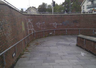 Graffiti, Heimdal Stasjon, Trondheim