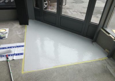 epoxy på gulv - industrigulv
