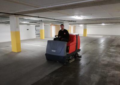 rengjøring av garasjeanlegg