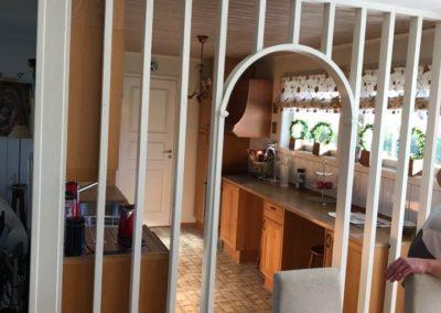 Bilde før renovering av kjøkken