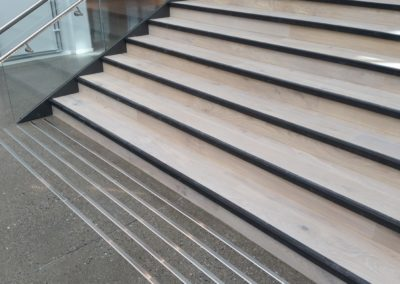 oppmerksomhetsfelt i trapp, farefelt